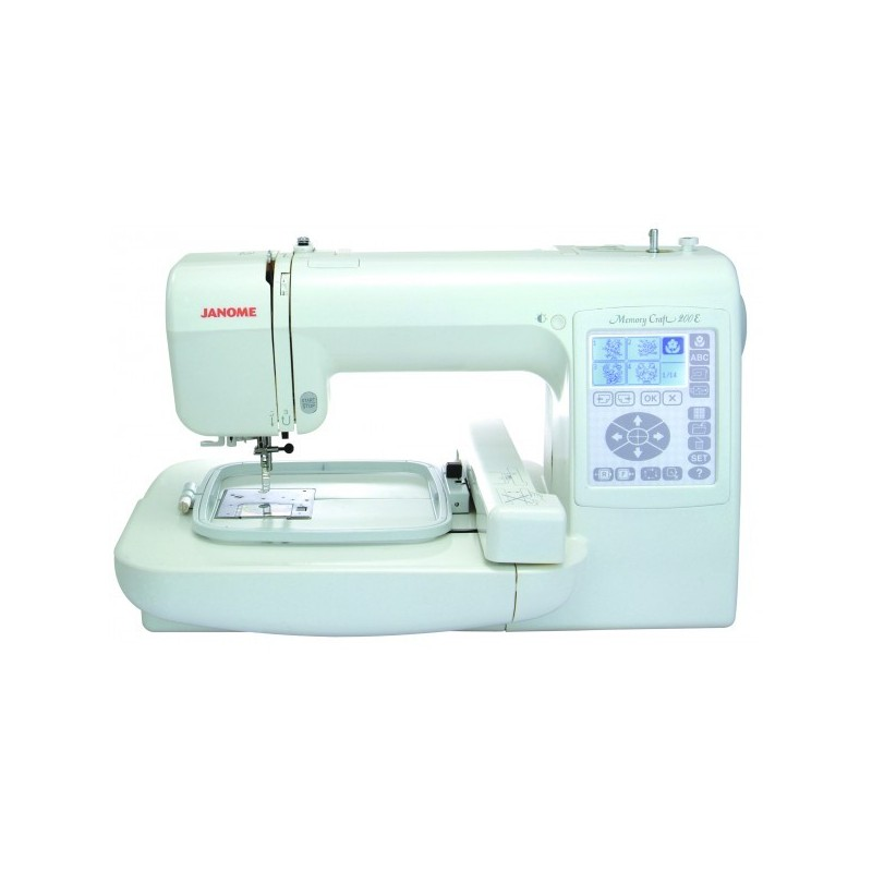 Brodeuse janome mc 200e machine coudre petit for Janome memory craft 200e