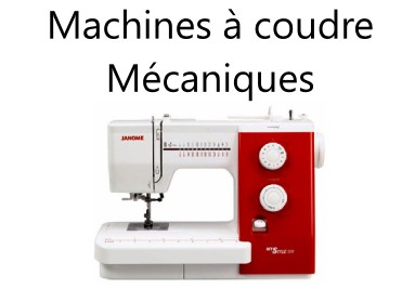 Machines à coudre mécaniques