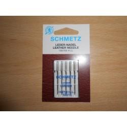 Aiguilles machine a coudre le cuir schmetz 130/705HLL n°100