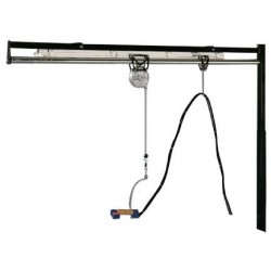 LAMPE RAIL ET SUSPENSION COMEL BR/A