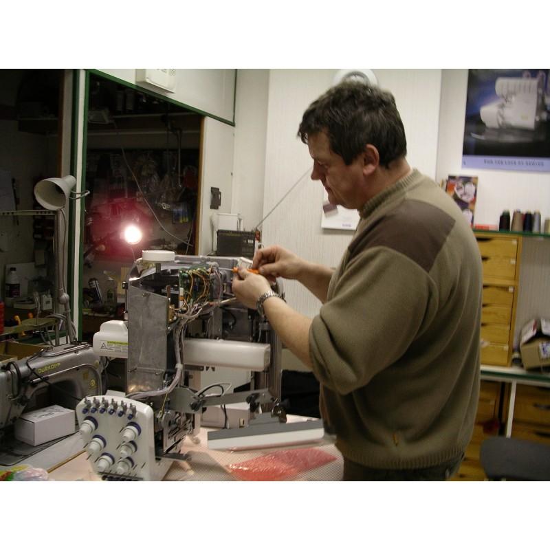 R parations machines coudre familiales et industrielles for Machine a coudre 3d