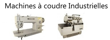 Machines à coudre industrielles