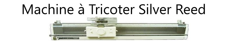 Machine a tricoter Silver Reed